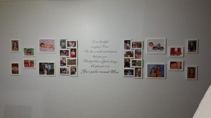 wall of pics